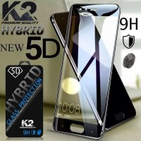 TEMPERED GLASS 5D warna K2 Premium Quality SAMSUNG J4 2018 J6 J7 DU0