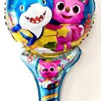 souvenir ulang tahun anak balon foil baby shark