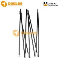 Frame Tenda Bahan Fiber Glass panjang 52 cm Diameter 8,5 mm / Batang