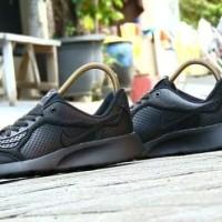 Sepatu Nike Air Max Fullblack Hitam Polos Sepatu Sekolah Pria Wanita