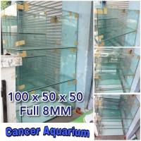 Aquarium Kaca 100x50x50 Ful 8MM