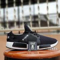 sepatu sport adidas NMD XR1 black white grade ori / casual sneaker men