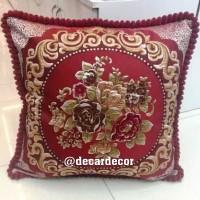 Sarung bantal sofa shabby victorian - bantal sofa elegan