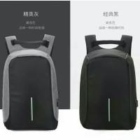 Tas Ransel Usb Anti Maling / backpack anti theft / Tas laptop
