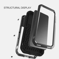 Huawei P20 Pro - LOVE MEI Powerful Armor Case Cover Casing bumper
