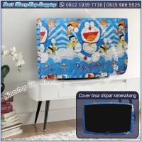 COVER TV, BANDO TV, TUTUP TV LED / LCD motif Doraemon