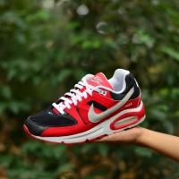 jual sepatu original nike airmax command red white list black