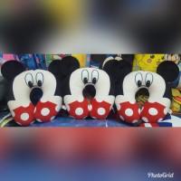Bantal Leher Mickey Mouse Kuping 33cm