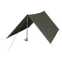 Tenda flysheet shelter CAMPING TARP HIKER'S ARPENAZ KHAKI