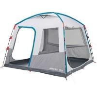 Tenda outdoor piknik shelter ARPENAZ BASE L CAMPING 10 orang