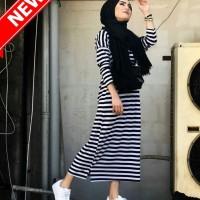 Beka Stripe   Baju Hijab Terbaru 2018   Baju Murah