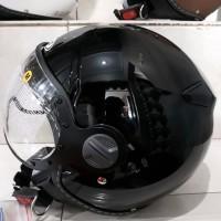 BEST HELM zeus 210 retro clasic Black gloss