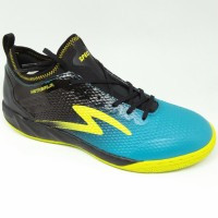 Sepatu futsal specs original Metasala Musketeer Black/coctail blue new