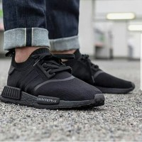Sepatu Adidas NMD R1 Japan Triple Black - Premium Import