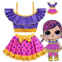 DRESS LOL IMPORT/ Gaun LOL / KOSTUM LOL Anak / Baju LOL
