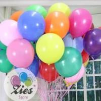 balon latex doff / balon latex dof anekawarna per pack ( isi100)