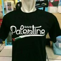 Kaos Save Palestina / Tshirt Oblong Palestin / Baju pria