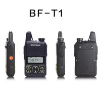 HT Baofeng T1 BF-T1 Mini Handy Talky Handheld Rechargeable 1500mAh