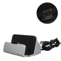 Handphone USB Charger Stand Dock For Smartphone Android Micro USB /
