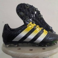Sepatu Bola Adidas Ace 2016 Black FG Replika Impor