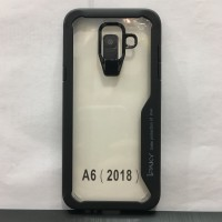 Samsung A6 2018 Black Soft Silicone Bumper Auto Focus Case IPAKY
