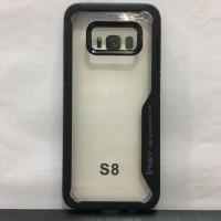 Samsung S8 Black Soft Silicone Bumper Auto Focus Case IPAKY