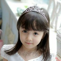 Bando Tiara Mahkota Anak & Remaja Princess Crown Headband