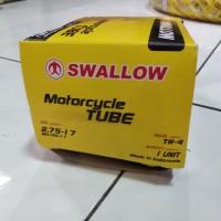 Ban dalam motor Bebek 2.75 17 , 80/90 - 17 Swallow , belakang Revo sup