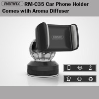 Remax Car Holder Phone With Aroma Parfume Diffuser Suction Cup RM-C35