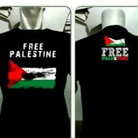 Kaos/Tshirt/Baju Oblong Free Palestin