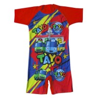 baju renang diving anak karakter tayo BRDL-K067SD