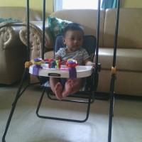 Swing Pliko 202/Ayunan Bayi Manual/Bangku Ayun Anak Bayi Murah