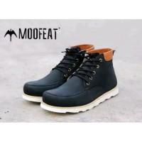 murah Sepatu Boots Pria Moofeat Bandros