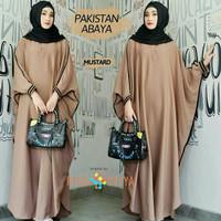 Baju Gamis Kaftan Wanita/Gamis Muslim Kaftan Modern Pakistan Cocho