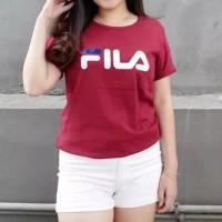TERLARIS T-shirt | kaos cewek| baju wanita| kaos fila cewek | tumblr