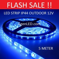 Lampu LED STRIP 3528 SMD 2835 IP44 IP 44 Blue outdoor ledstrip BIRU