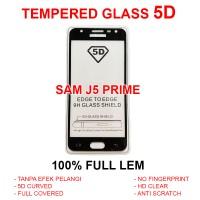 Samsung J5 Prime TEMPERED GLASS 5D anti gores screen guard full 3D 4D