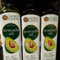 Chosen foods virgin avocado oil minyak alpukat 250 ml