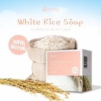 HANASUI WHITE RICE SOAP WITH SCRUB 60GR / HANASUI SABUN BERAS