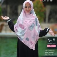 Jilbab motif AURANY AJM 14 ukuran 130x130