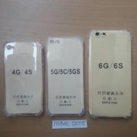 Case Anti Crack Iphone 4 5G/5S/5C  6  6 plus  7/8  7 plus  X Anticrack