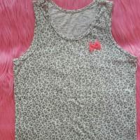 Baju branded anak Justice leopard tanktop