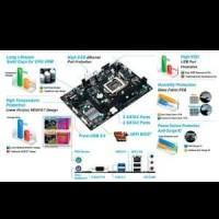 Gigabyte GA-H81M-S1 (LGA1150, H81, DDR3, SATA3, USB3) Diskon