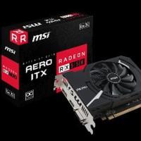 MSI Radeon RX 550 AERO ITX 2GB DDR5 - AERO ITX 2G OC Limited
