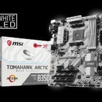 MSI B350 Tomahawk Arctic - AM4 - AMD Promontory B350 - Limited