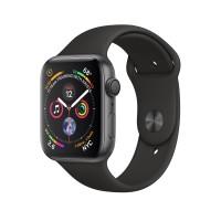 Apple Watch Series 4 GPS 44mm Space Gray Aluminum Black Sport Band