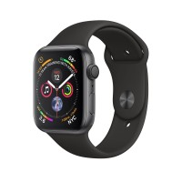 Apple Watch Series 4 GPS 40mm Space Gray Aluminum Black Sport Band