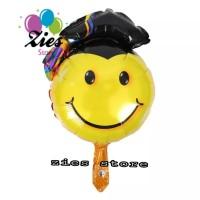 balon foil Graduation smile / balon foil sarjana smile (40cm)