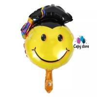 Balon Foil Smile / Smile Graduation ( 40cm)