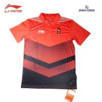 HOT ITEM Kaos Lining berkerah OFFICIAL Asian Games RedBlack ORIGINAL